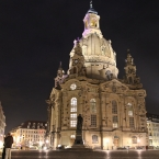 Frauenkirche bei Nacht