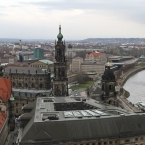 Blick von Turm der Frauenkirche