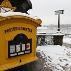 Post gibt es auch in Dresden
