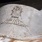 Inschrift auf der Kuppel des Petersdom