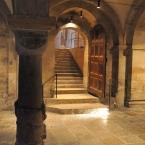 Dom zu Lund - Treppe zur Krypta